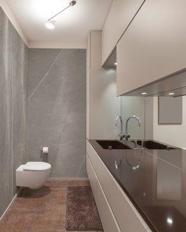 Carrelage brillant haut de gamme salle de bain
