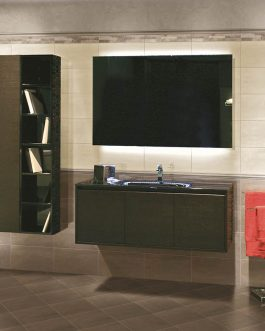 Carrelage moderne beton salle de bain metz
